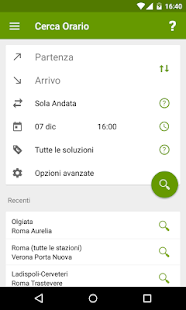 Train Timetable Italy- screenshot thumbnail