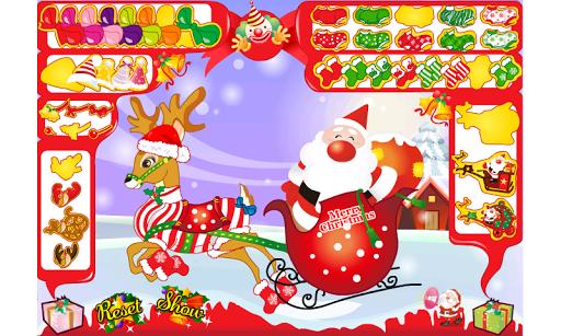 Santa's Reindeer Dress Up