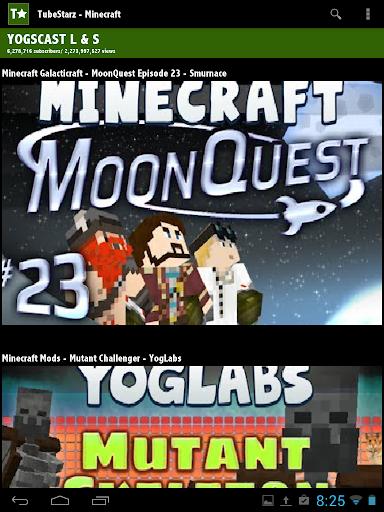 【免費娛樂App】TubeStarz - Minecraft-APP點子