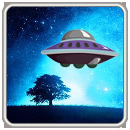 UFO fled