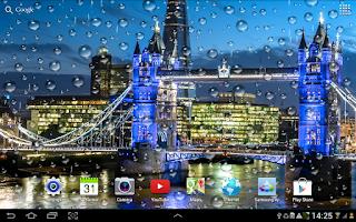 Screenshot of Rainy London Live Wallpaper