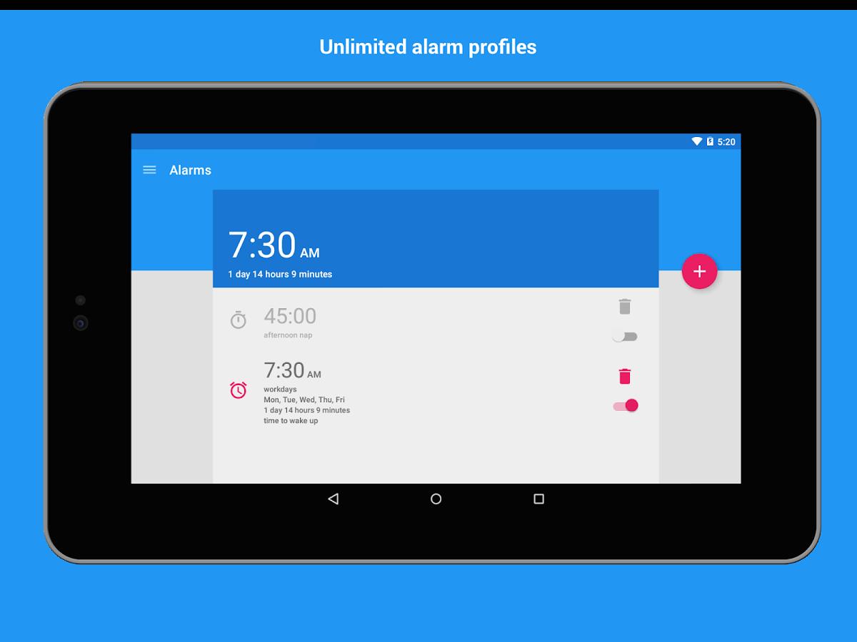 AMdroid – Alarm Clock