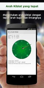Alarm Jadwal Sholat dan Kiblat - screenshot thumbnail
