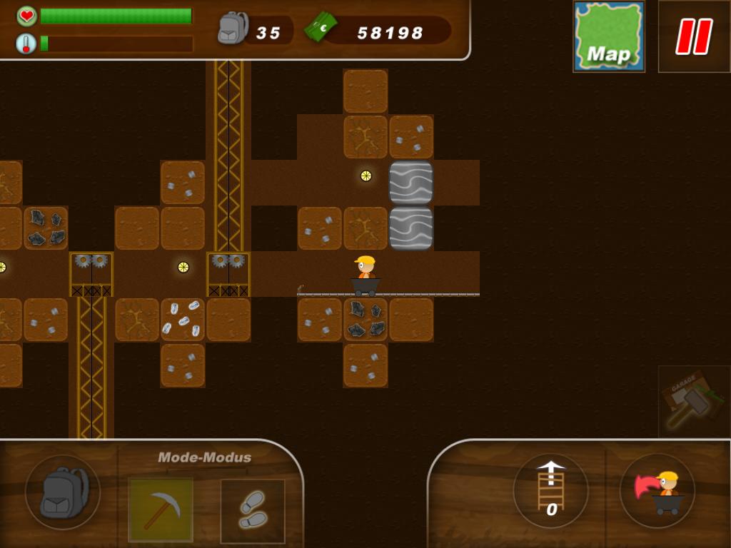 Mining games on Kongregate
