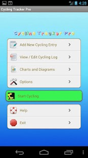 Cycling Tracker Pro- screenshot thumbnail