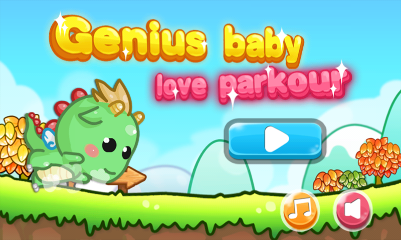 Genius baby love Parkour - screenshot