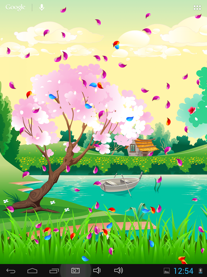 Spring Live Wallpaper- screenshot