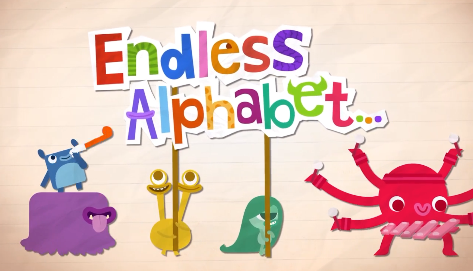 Endless Alphabet - screenshot