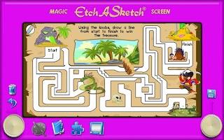 Screenshot of Etch A Sketch