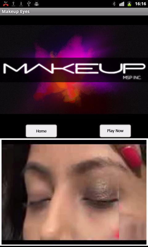 Makeup Eyes - screenshot