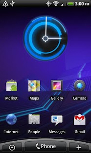 3.0 Honeycomb Clock Lite- screenshot thumbnail