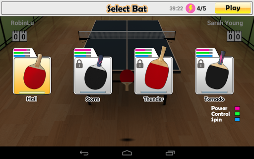 Virtual Table Tennis  screenshots 21