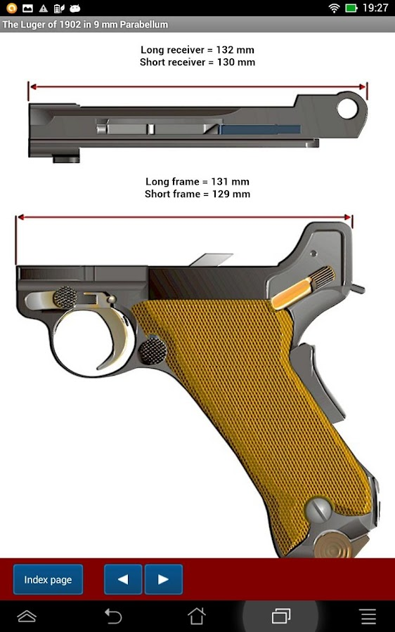 The Luger models explained- screenshot