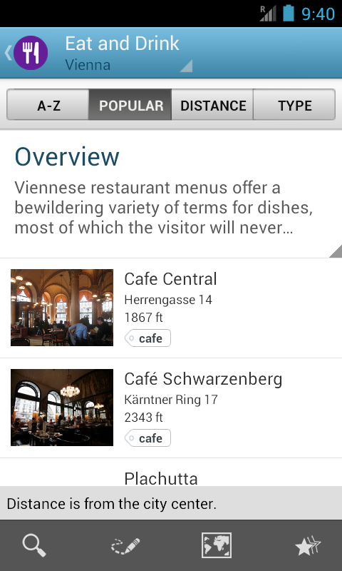 Vienna Travel Guide – Screenshot
