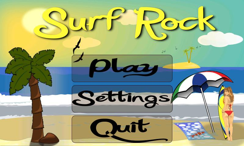 Surf Rock Lite - screenshot