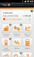 Screenshot of Sparbanken
