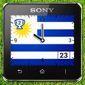 Watchface Uruguay (Sony SW2)