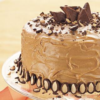 Whipped Cream Caramel Cake.