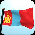Mongolei Flagge 3D Kostenlos icon