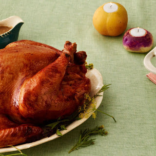 Brined, Roasted Thanksgiving Turkey