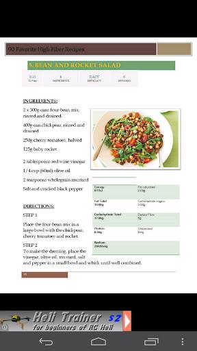 90 High Fiber Recipes Cookbook