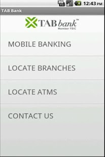 TAB Bank Mobile - screenshot thumbnail