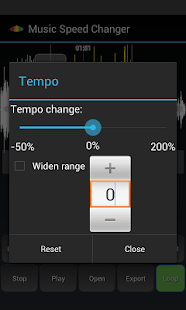 Music Speed Changer Pro Screenshot