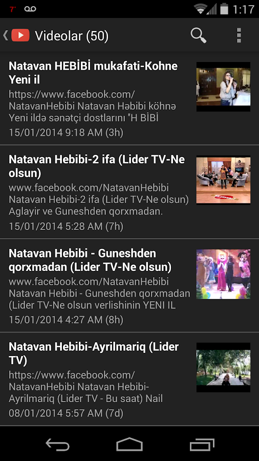 Natavan Hebibi - screenshot