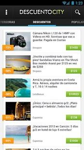 DescuentoCity - Descuentos - screenshot thumbnail