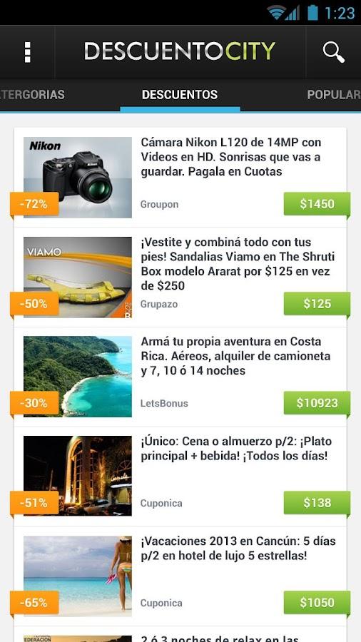 DescuentoCity - Descuentos - screenshot