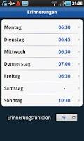 Screenshot of BMW Thermo Call