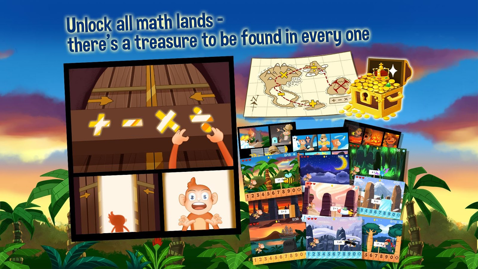 monkey math hd kids games android apps on google play