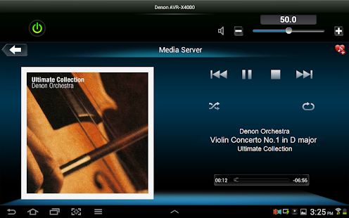 Denon Remote App - screenshot thumbnail