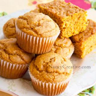 Pumpkin Cornbread or Pumpkin Cornbread Muffins