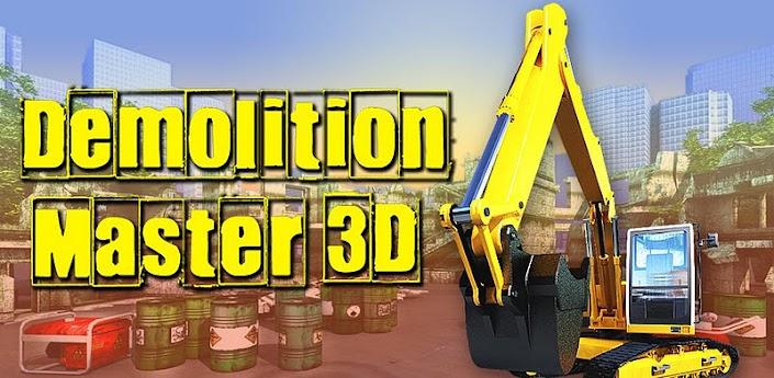 Demolition Master 3D (Разрушитель зданий) необычная головоломка