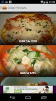 Screenshot of Cuban Recipes Free