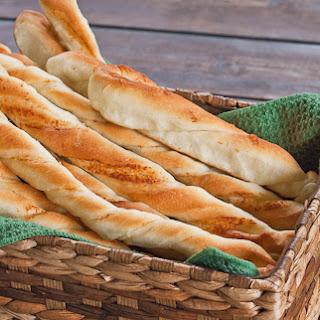 Twisted Parmesan Breadsticks