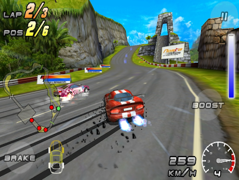 Raging Thunder 2 - FREE APK screenshot thumbnail 7