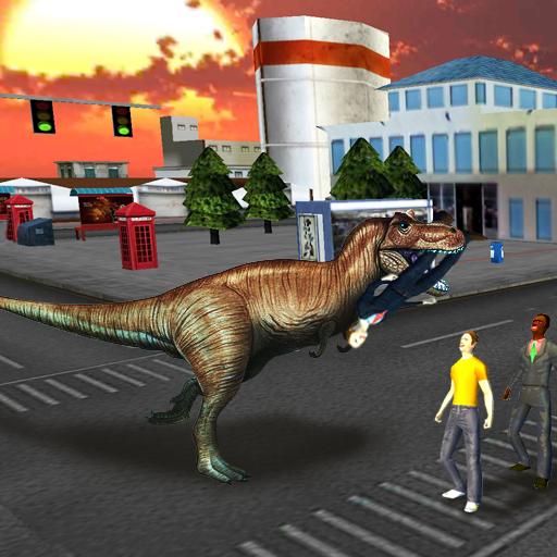 恐龍的攻擊3D 模擬 App LOGO-硬是要APP