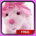 Doggy In Pink Live Wallpaper icon