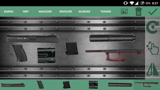 Weapon Builder : Pistol