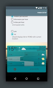 Detailed YR Weather Widget screenshot 3