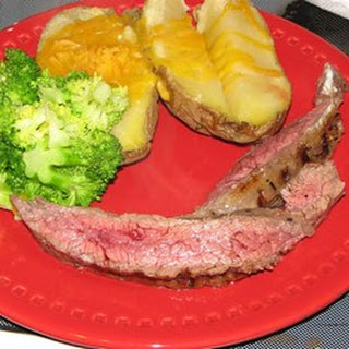 Citrus-Ginger Flat Iron Steak