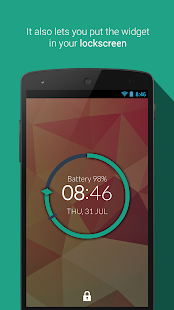 Minimalist Clock Widget- screenshot thumbnail
