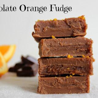 Chocolate Orange Fudge.