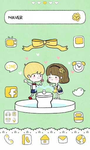 Firstdate dodol launcher theme