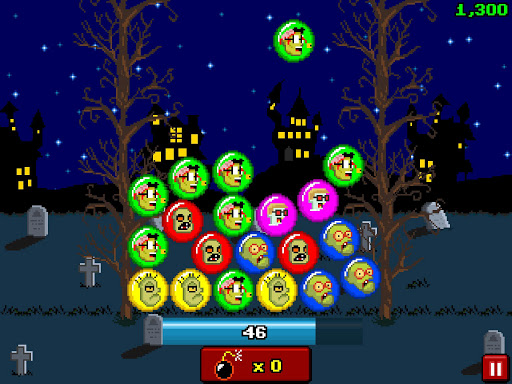 Bubble Zombies Dash