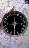 Screenshot of Survey Compass AR