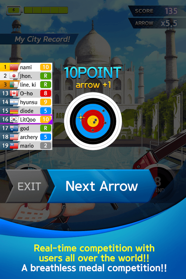 ArcherWorldCup - Archery game- screenshot