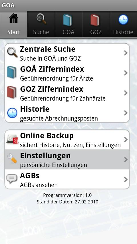 GOÄ GOZ - screenshot